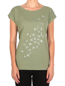 Swarmy Tee [light olive]