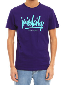 Tagg Ahead Tee [dark purple]