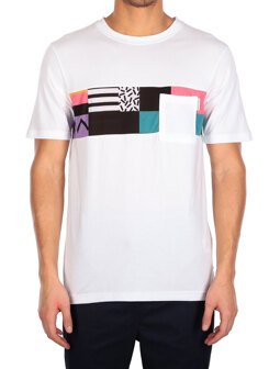 Theodore Pocket 2 Tee [white]