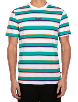 Tony Stripe Tee [teal]