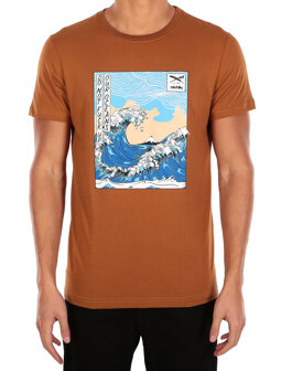 Trash Wave Tee [caramel]
