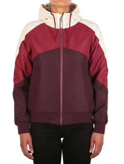 Tri Colore Jacket [red wine]