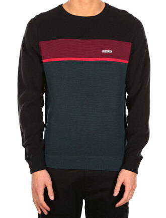 Auf Track Stripe Knit [hunter]
