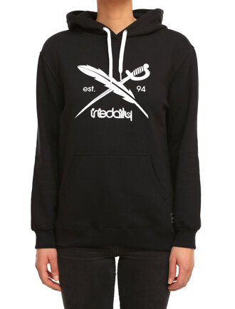 Big Flag Hooded [black]