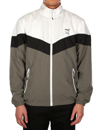 Bustin Track Jacket [olive white]