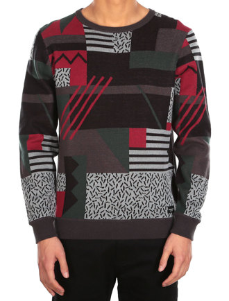 Crazy Fresh Knit [hunter red]