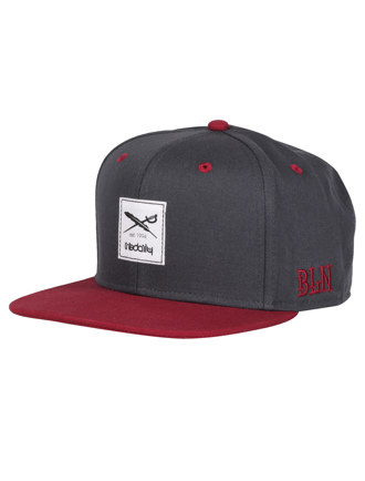 Daily Contra Snapback [anthra red]