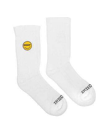 Daily Smile Sock [white]