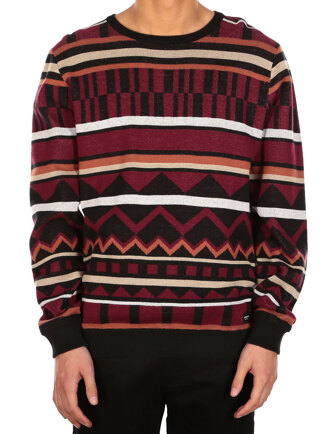 Huxtable Knit [red wine]