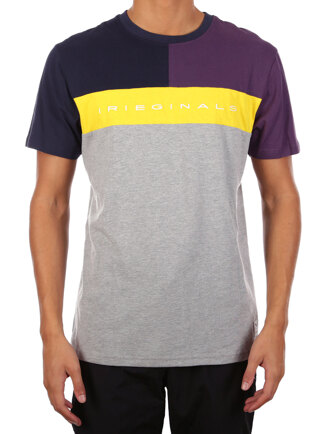 Irieginals Block Tee [grey-mel.]
