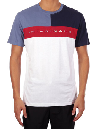 Irieginals Block Tee [white]