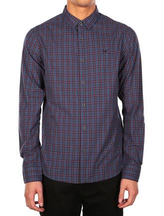 Mc Kieran LS Shirt [steelblue]