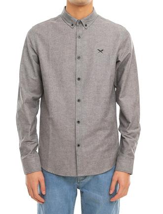 Samuel LS Shirt [grey-mel.]