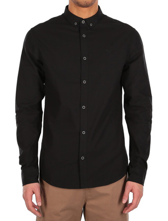 Samuel LS Shirt [uni black]