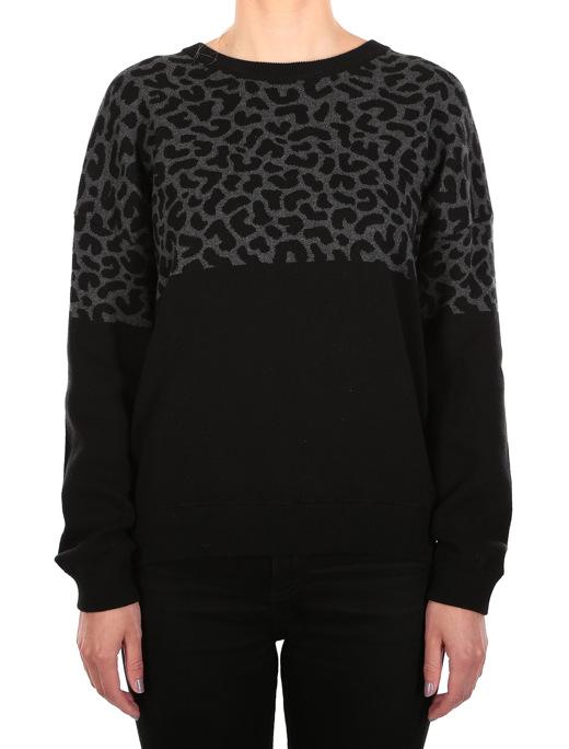 Blotchy Knit  [black]