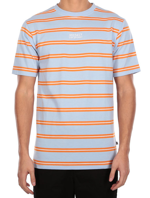 Bro Stripe Tee  [light blue]