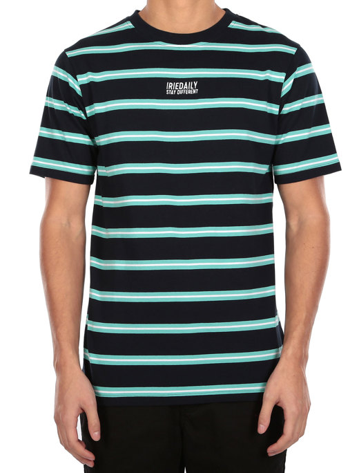 Bro Stripe Tee  [navy]