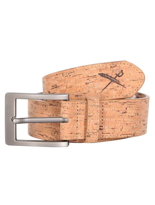 Cork Flag Belt  [wood]