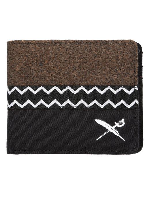Cork Mix Wallet  [black]