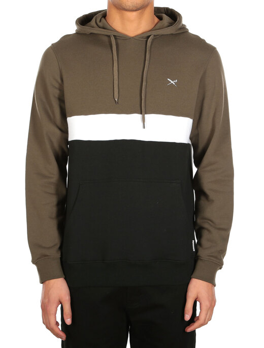 Court 2 Hoody  [black olive]