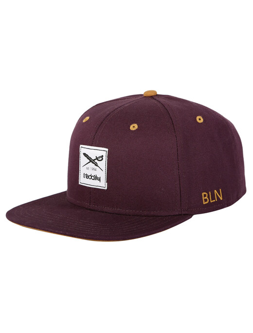 Daily Flag 20 Snapback  [red wine]