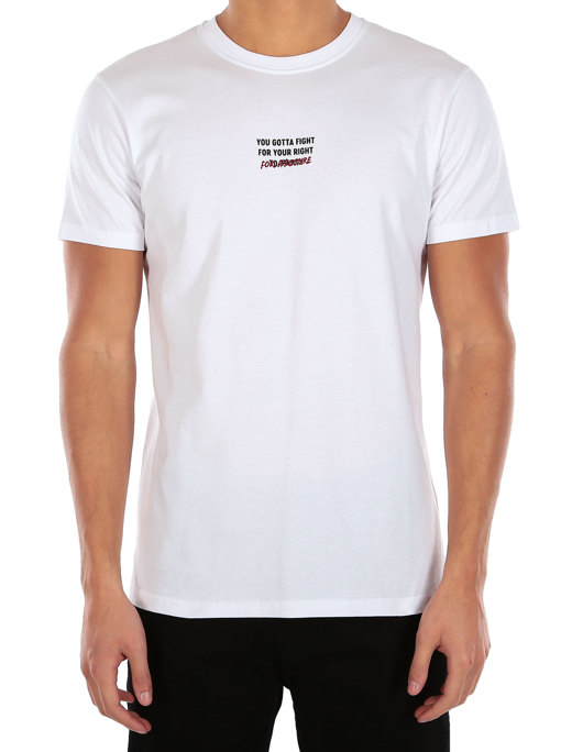 Fight for Future Tee  [white]