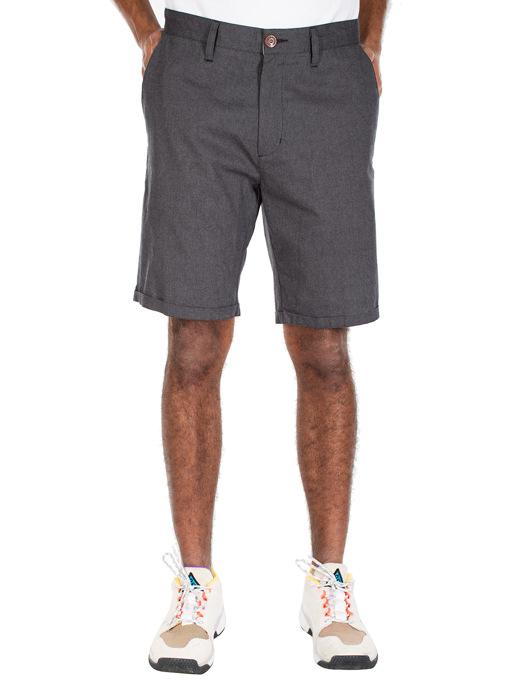 Golfer Chambray Short  [anthra mel.]
