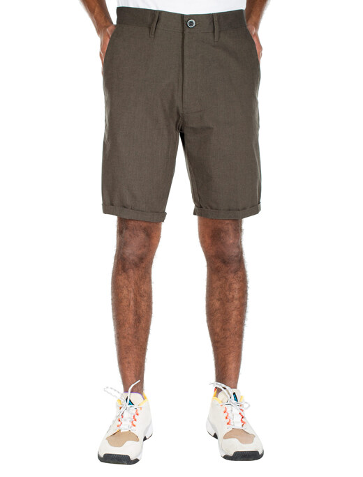 Golfer Chambray Short  [d olive]