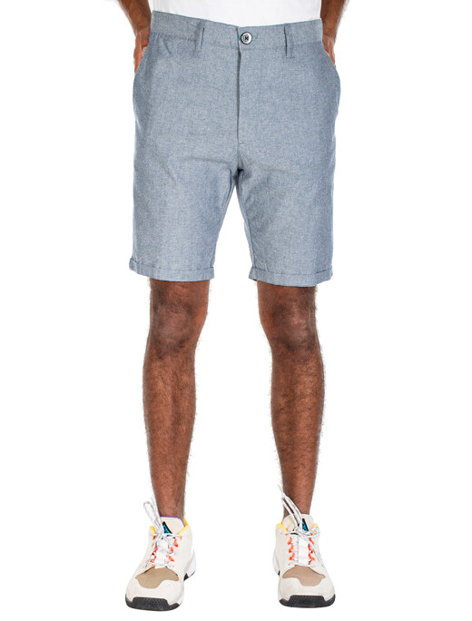 Golfer Chambray Short  [jeansblue]