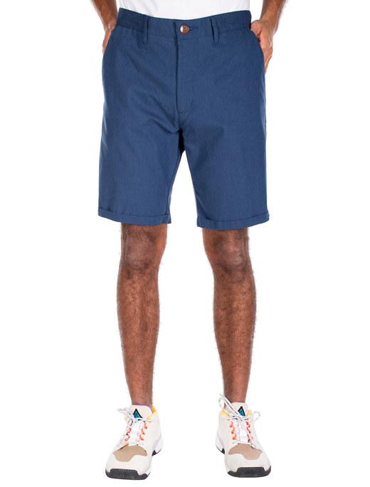 Golfer Chambray Short  [steelblue]