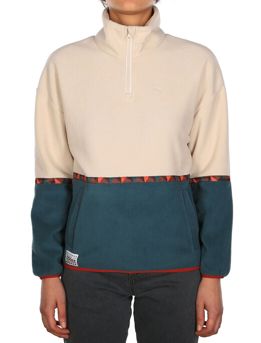 Hopi Fleece Troyer  [dark teal]