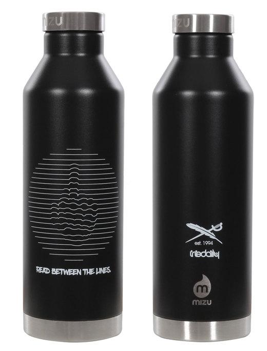 Lines Flask  [black]