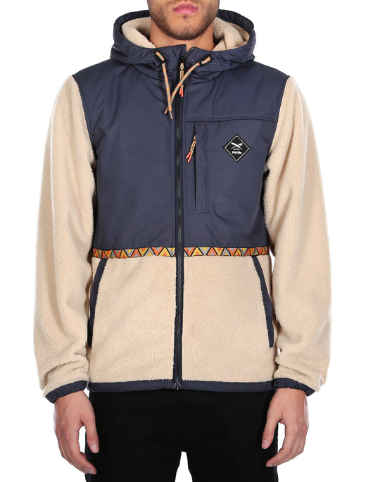 On Top Hood Jacket  [navy]