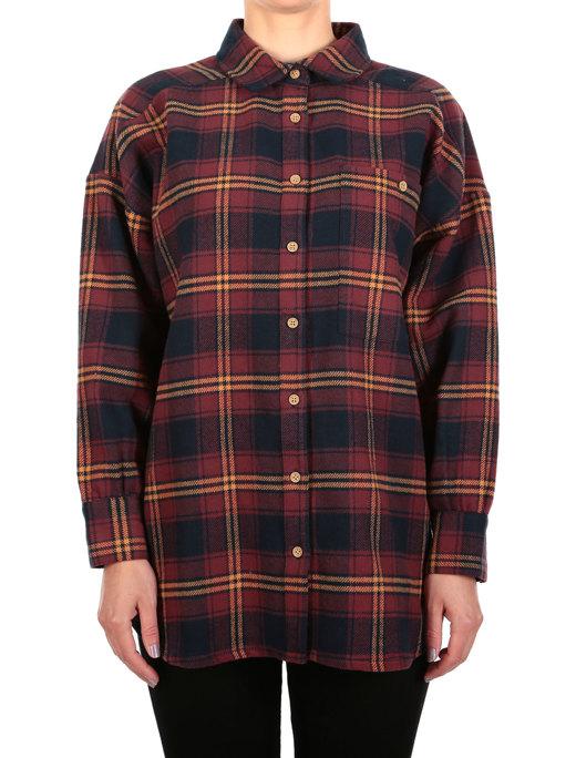 Rosi LS Shirt  [dark rum]
