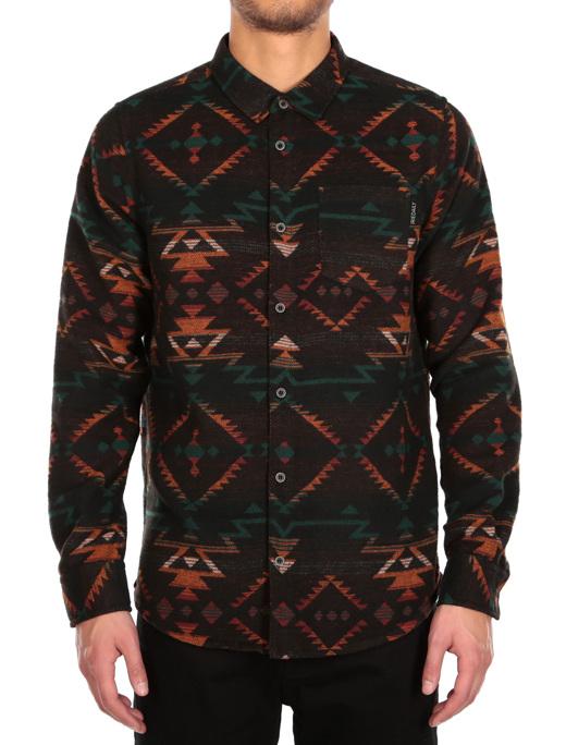 Santania Shirt  [petrol red]