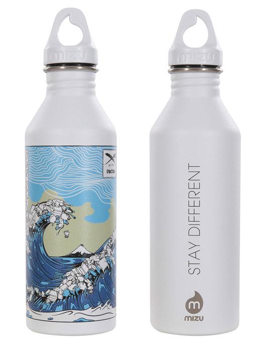 Trash Wave Bottle  [white]