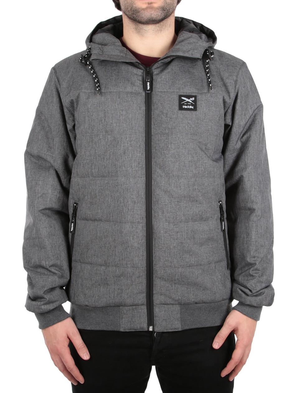 Streetwear Fr Mnner Im Offiziellen Onlineshop Iriedaily Tendencies Sweater Hoody Green Zipper Olive S City Arctic Mel Jacket Anthra