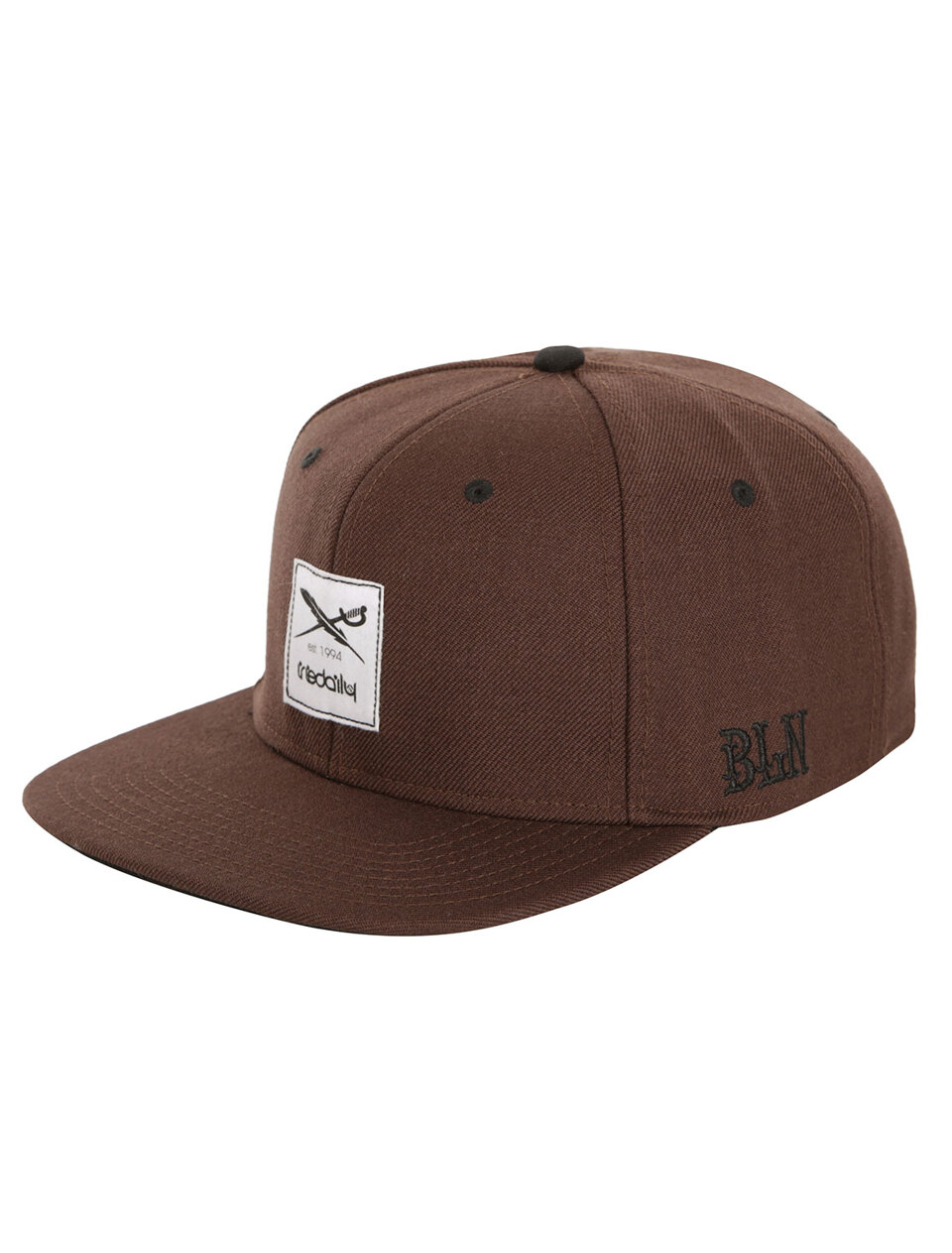 cf86bbe9afdfc9 Daily Flag Snapback [d brown]   shop official - IRIEDAILY