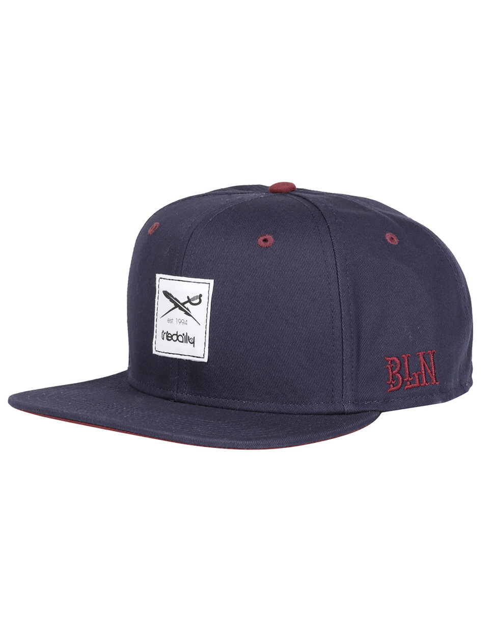 09fdc90420b60c Daily Flag Snapback [navy]   shop official - IRIEDAILY