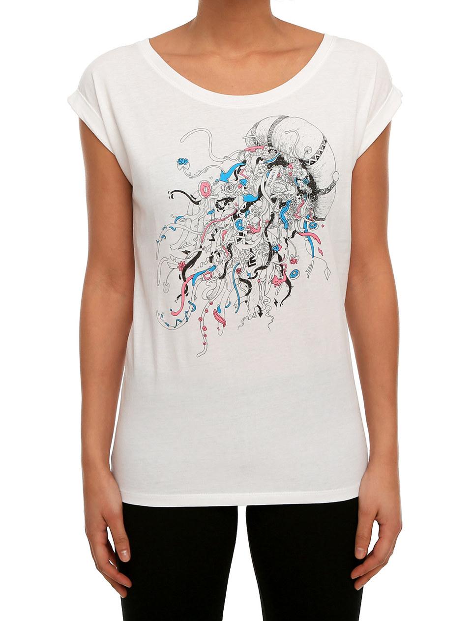 T-shirt Funky Jelly weiß Iriedaily ku2MX4BlQN