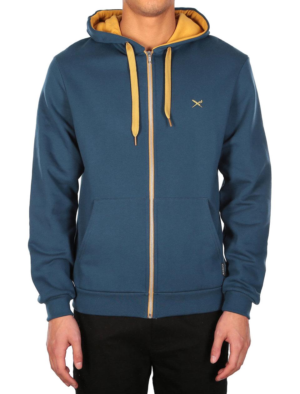 Mini Flag Zip Hood [orion blue]