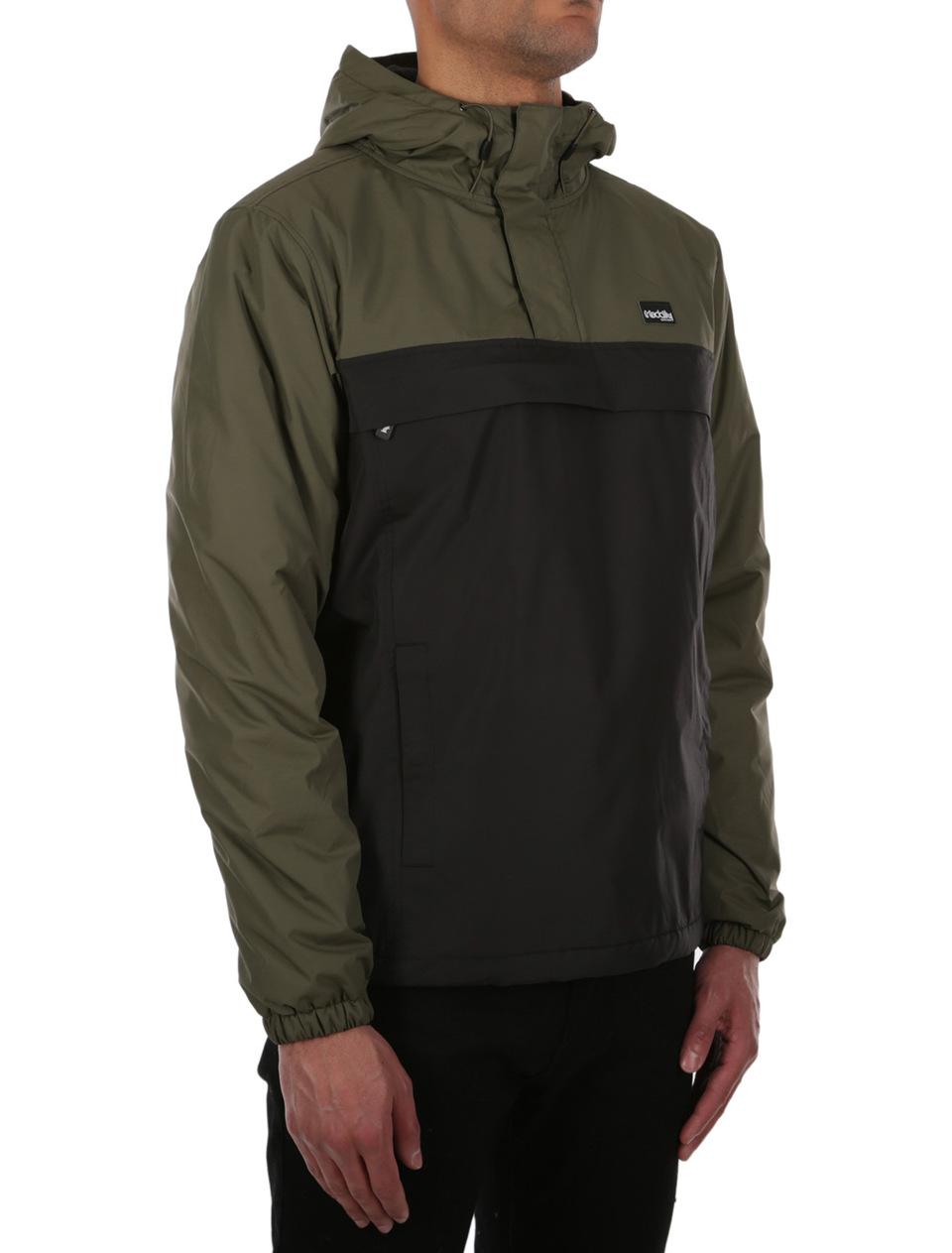 Jacket Olive Iriedaily Black Insulaner Breaker 5qWpaa