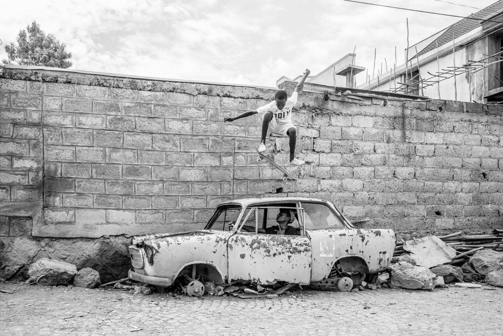 """Daniel Reiter """"Ethiopia Skates"""""""