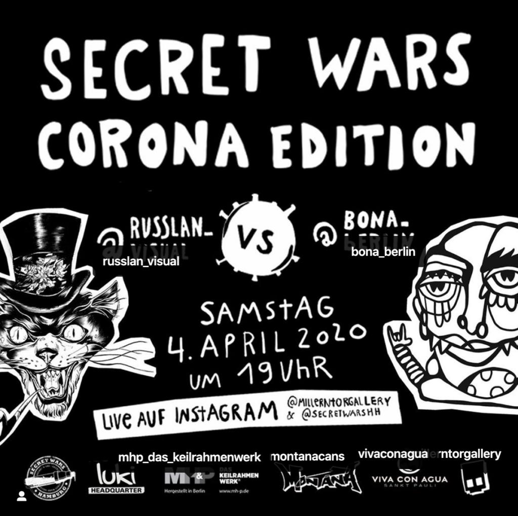 Secret Wars Corona Edition Artwork by Bona_Berlin