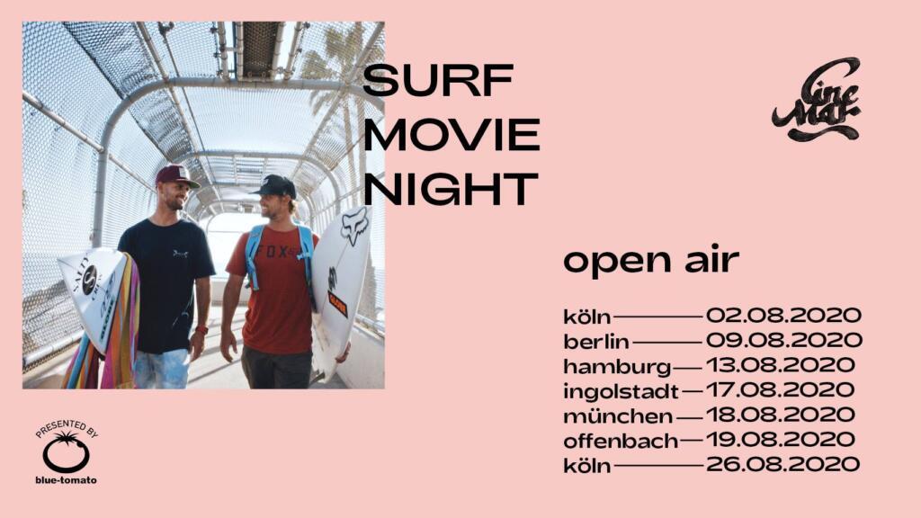 Cine Mar Surf Movie Night Summer Tour Dates