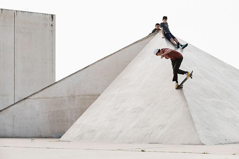 IRIEDAILY Skateteam in Tel Aviv