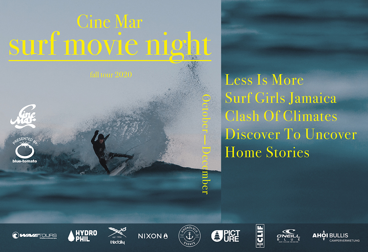 Cine Mar Surf Movie Night Fall Tour