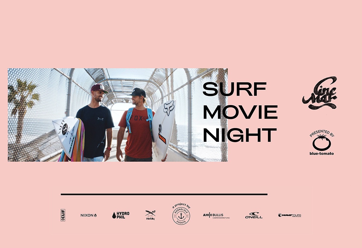 Cine Mar Surf Movie Night Summer Tour Blog Header