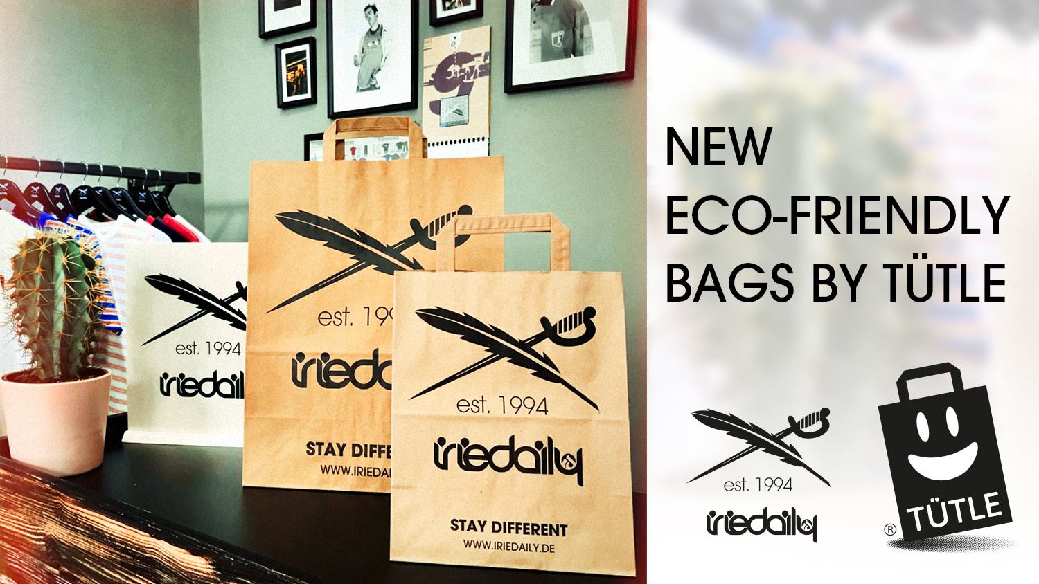 New Eco Friendly Iriedaily Shopping Bags By Tutle Iriedaily