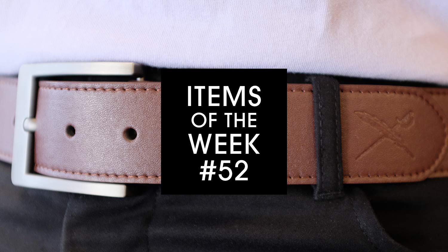 Items of the Week #52 Veder Belt